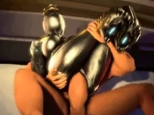 Mass effect alien sex scene