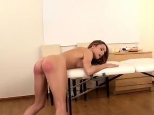 spank and butt fucked and anal