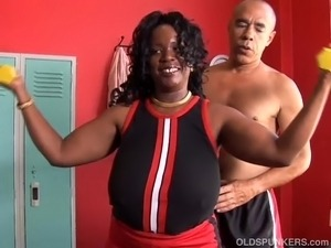 busty black girl interracial