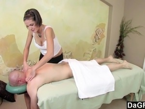 sexy naked girls with massage oil