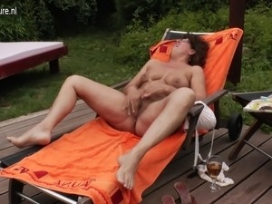 anal sex inside the pool