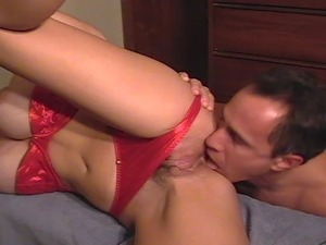 video red lingerie hot porn ride