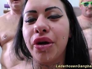 wife interracial gangbang