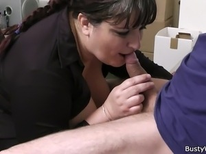 nylon clothes office retro sex movie