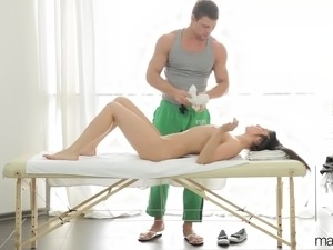 Asian massage masturbation