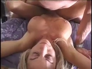 cougar blowjob mouthful video