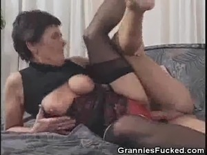Black grannies pussy