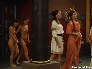 whip slave girl video