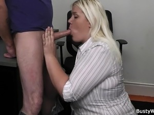 office tits sex