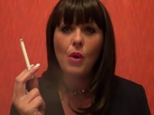 smoking blowjob lipstick videos