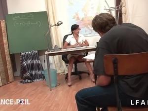 my first sex teacher mrs sparxxx