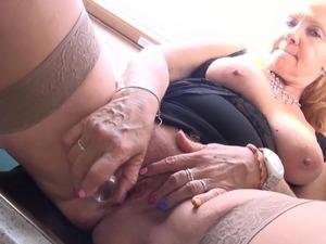 hardcore granny free porn video