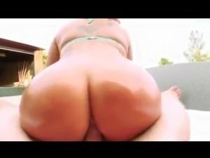 Girl fucked on pool table
