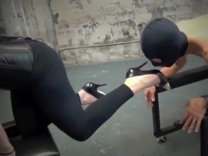 ball slapping ass video