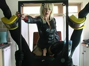free video latex slave forced orgasm