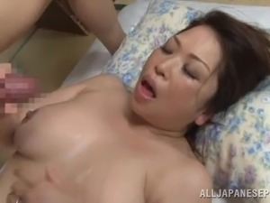 cougar oral sex cum