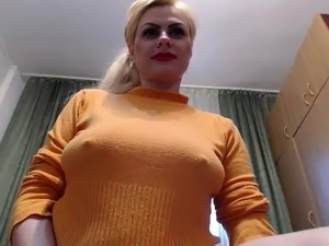 mature woman sucks two dicks