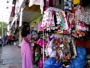 Nude indian saree
