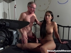 Girl fuck old man