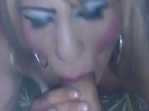 Unwanted cum in mouth