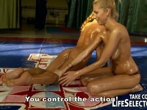 model bikini strip sex