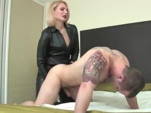 girl rides strapon videos