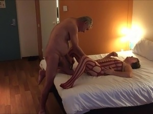 interracial wife sex in hotel