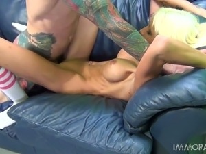 interracial missionary style porn