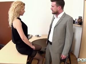 female boss make employee porn videos