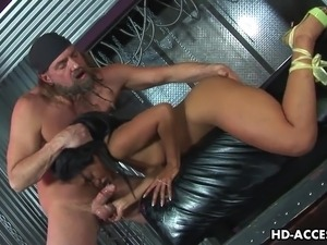 deep throat sex scene