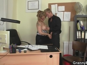 bbw office threesome sex