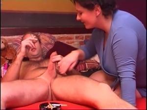 rough throat gagging anal fuck