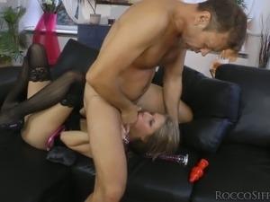 stocking fuck video