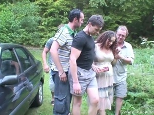amateur slut wife gangbang videos
