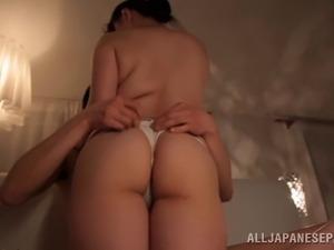 Big tits in work