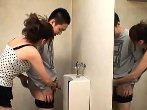 teen masturbation public toilet orgasm