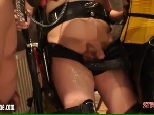 slave inspection mouth pussy ass