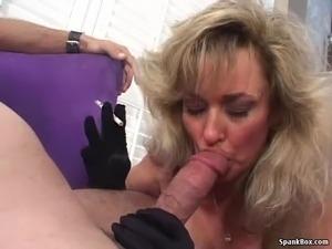 Big tits and smoking