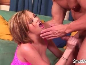 Amateur cum in mouth
