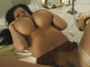 black girl takes giant white cock