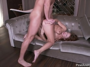 black dick her first anal