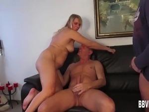 blonde milf sucking black cocks