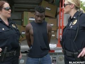 stripdown police pussy