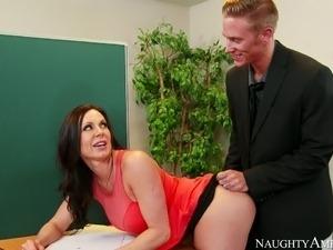 my blonde sexual teacher