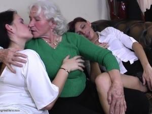mature lesbian orgy videos
