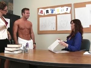 Sexy lesbian teachers