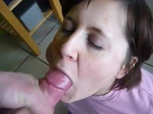 Video cum in mouth