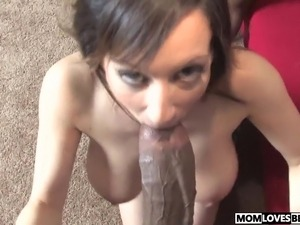 redhaired hairy pussy mom fucks son
