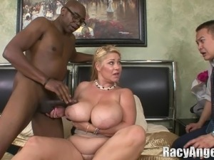 black asian threesome