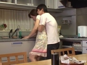 teen fuck on kitchen counter blue